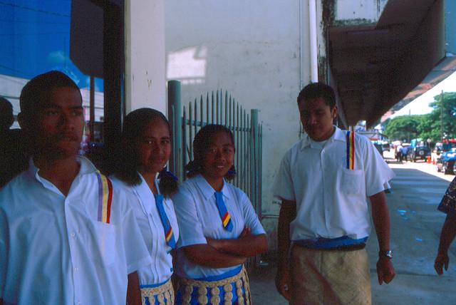 Tongan Students in Nukuʻalofa