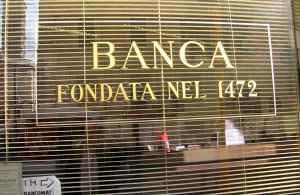 Banco en Roma