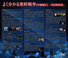 111111 - TVA《Fate/Zero》第四次聖杯戦争(中級編)的官方解說板『用語解説集』正式開放下載!