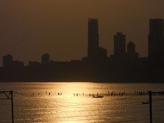 The low tide. (--chaitanya--) Tags: chowpatty girgaum