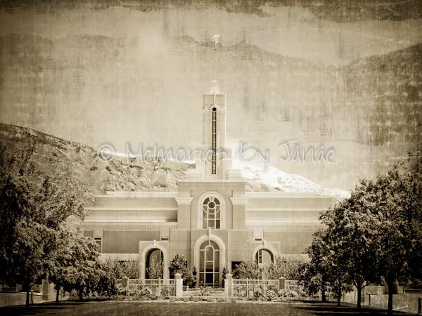 Mt. Timpanogos Vintage LDS Temple Prints -2-2
