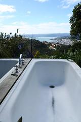 Bath with a view (Vaughanoblapski!) Tags: wellington img homestay koromiko