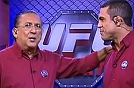 Galvão Bueno dá aula de narração em sua estreia no UFC by Portal Itapetim