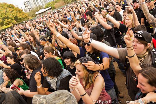 Eyehategod  (Crowd) @ FunFunFun Fest 2011
