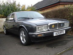 1991 Jaguar Sovereign (GoldScotland71) Tags: 1991 jaguar sovereign xj40 a20rpo