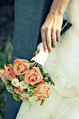 Flowers & Ring (aurostar739) Tags: flowers wedding dress ring diamond suit tuxedo bouquet gown