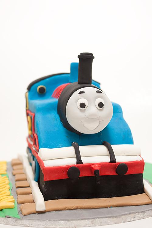Thomas Tank Train Cake