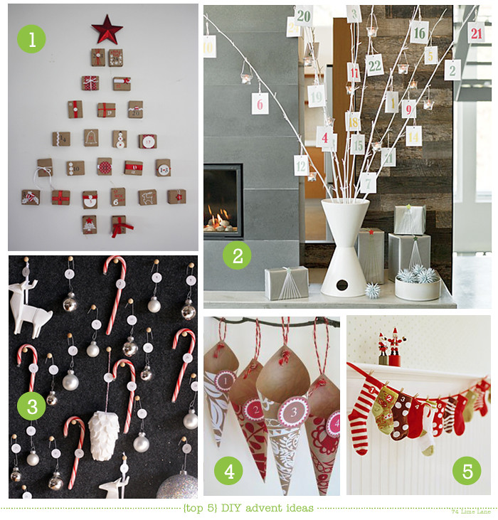 {top 5} DIY advent calendar ideas