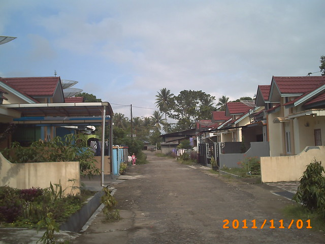 A Blocked Housing in Payakumbuh