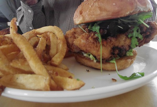 fried chicken sandwich @ bocado