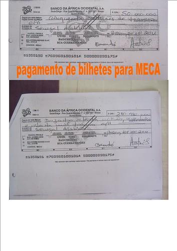 cheque meca
