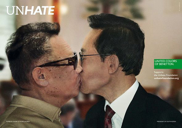 Benetton_Unhate_05_North_Korea_South_Korea
