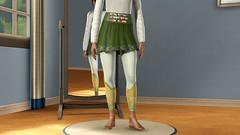 Embellish More Skirt Set