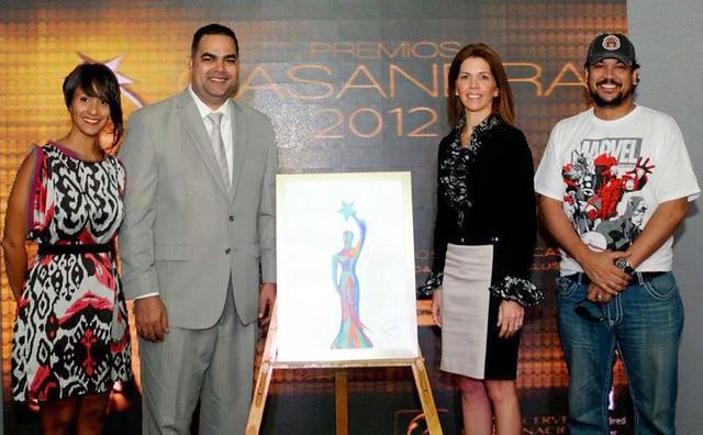 Premios Casandra Afiche 2012