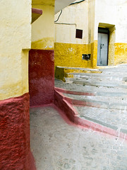 Warm Tones, Moulay Idriss (rowjimmy76) Tags: world door travel urban canon town northafrica muslim islam morocco maroc g11 moulayidriss meknstafilalet moulayidrisszerhoun