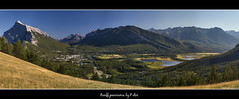 Banff panorama (pDOTeter) Tags: