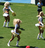 Charger Girls-013 (tolousse59) Tags: california girls sexy football pom high cheerleaders dancers legs sandiego boots kick nfl briefs cheer cheerleading miniskirt chargers pons spankies