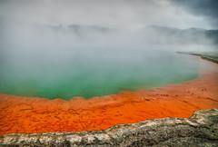 Artist's Palette - Wai O Tapu (make_make) Tags: park newzealand lake colorful rotorua northisland geyser geothermal thermal waiotapu thermalpark artistspalette artistpalette waiotapugeothermalwonderland