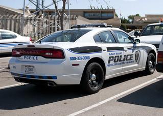 Amtrak Police Dodge