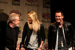 Ridley Scott, Charlize Theron & Michael Fassbender