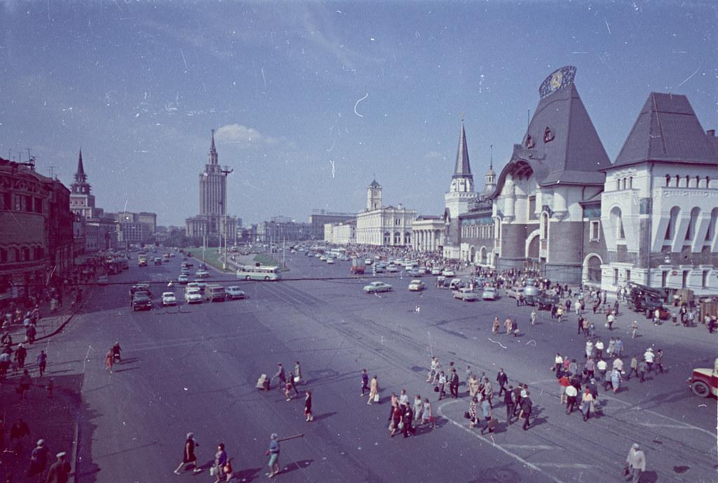 Москва, Комсомольская пл., 50е