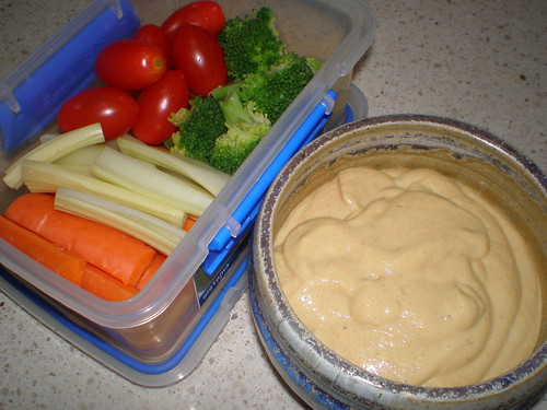 Lunch Box Fondue