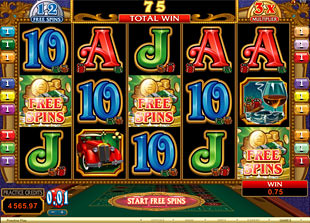 Riviera Riches free spins