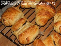 croissants and  pain au chocolat (BBB)