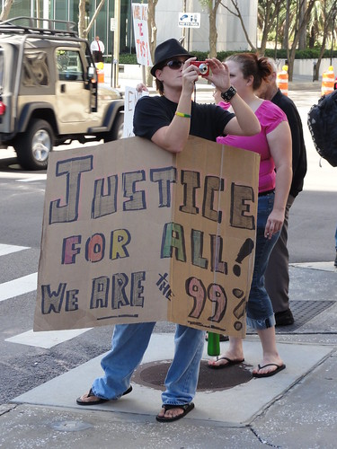 """Justice For All! We are the 99%"""