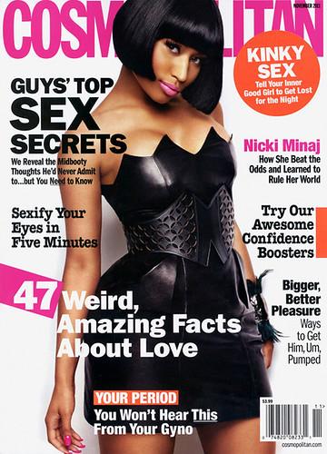 Nicki Minaj Covers Cosmopolitan Magazine Pictures