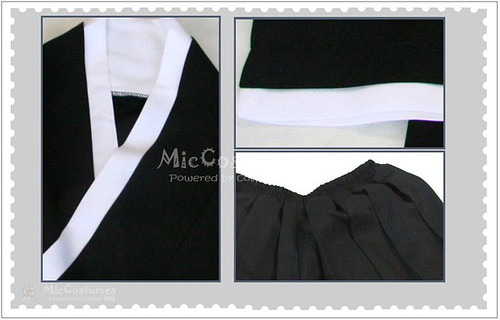 Bleach 5th Division Lieutenant Momo Hinamori Cosplay Costume_1