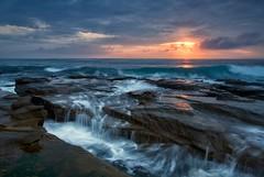 Crisp Perspective [ EXPLORE ] (James.Breeze) Tags: morning seascape sunrise rocks raw australia nsw canonef1740mmf4l coalcliff jamesbreeze