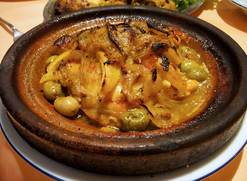 Tagine with Chicken, Olives, and Lemon