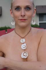 2 (Rainforest Chica) Tags: girls shells models jewelry rum bahamas cay sexygirls pinup conch handmadejewelry sunandsea rumcay bahamiangirls chrysrocha rumcayislandjewelry