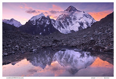 Chogori Sunset (Javier Camacho Gimeno) Tags: pakistan sunset mountain peak k2 himalayas 8000 paquistan baltoro chogori beautifulpeaks