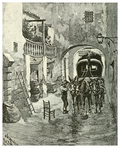 014-Parada de postas en Alicante-Spanish vistas-1883- George Parsons Lathrop