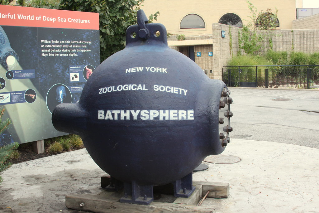 New York Zoological Society Bathysphere