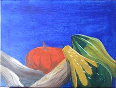 Autumny Still-Life in progress