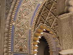 Alcazar Seville (Chris Draper) Tags: architecture spain arch carving seville andalucia moorish alcazar decroration alkazar
