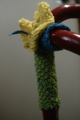 Firstdraft: Yarn bombing course