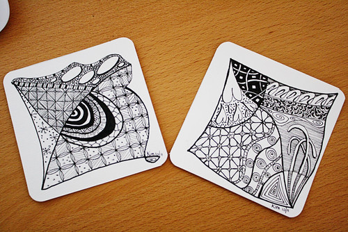 Zentangle Purist October