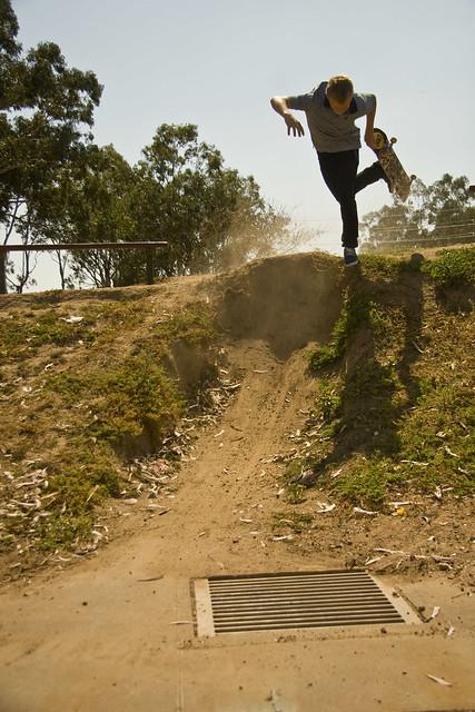 Dirt Jump Foot Plant