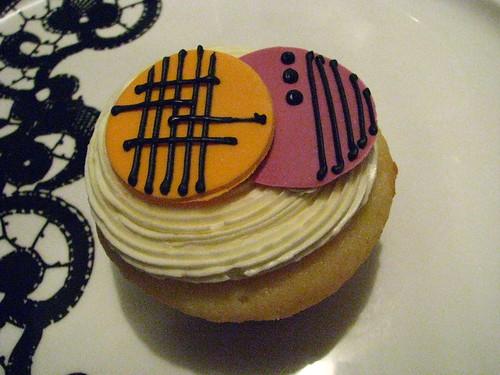 Art Deco Cupcake