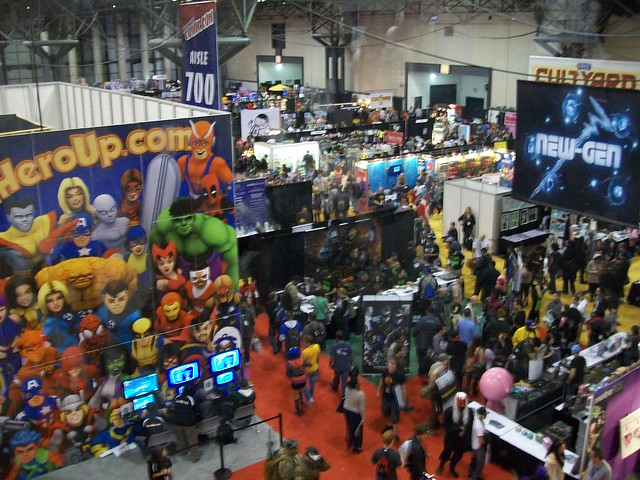 New York Comic Con 2011 Friday