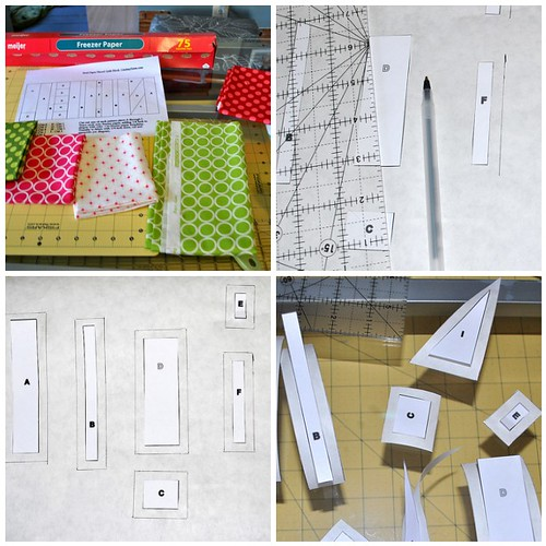 Cut and Trace Templates