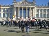 Vorhut läuft auf den Reichstag zu