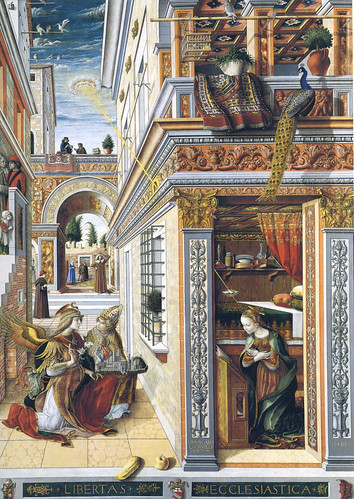 Carlo Crivelli - Annunciazione 3c with Saint Emidius (1486) - London National Gallery - visipix-dynalias-com by petrus.agricola