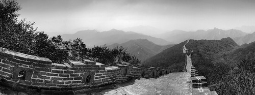 Great Wall Panorama, Mutianyu, China