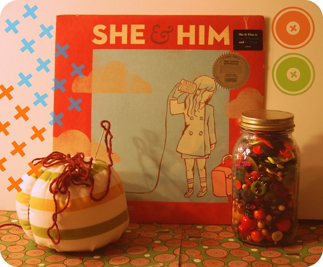vinyl monday: she & him.