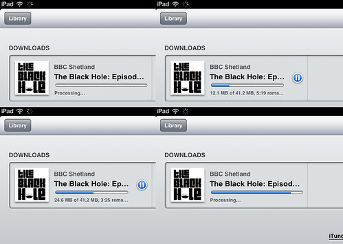 downloadin podcast